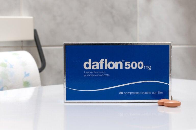 Daflón: usos y efectos secundarios