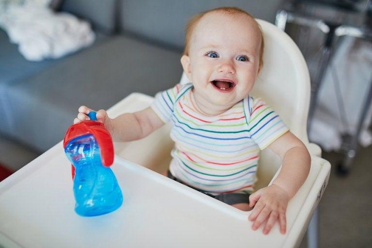 La hidratación del bebé en verano