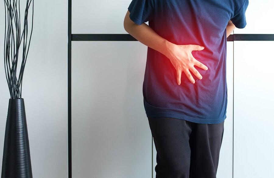 Paciente con dolor por litiasis biliar