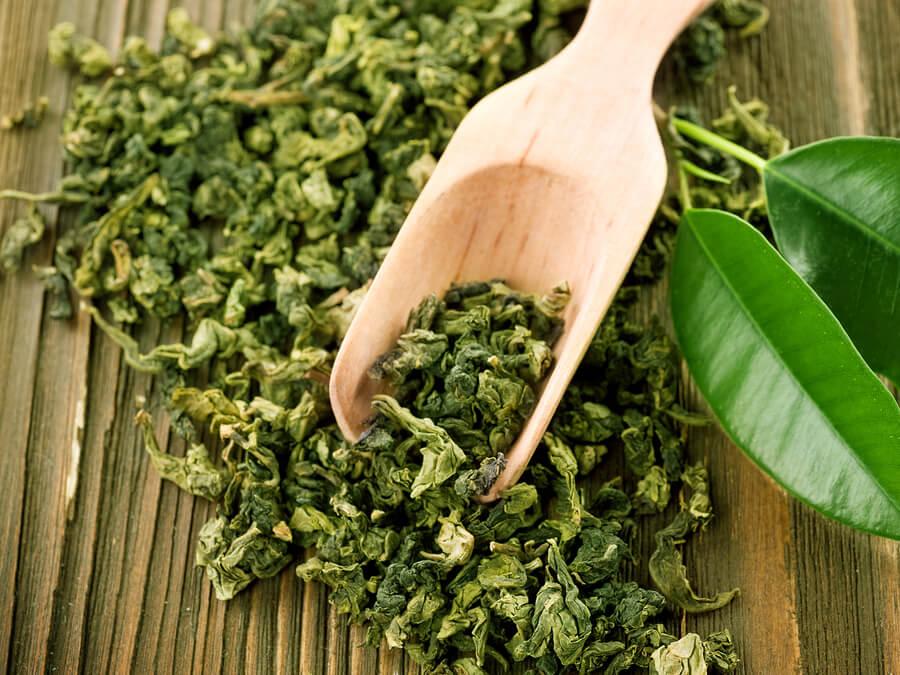 Té verde para combatir el acné