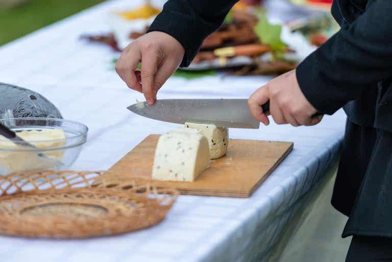 Trucos para cortar queso