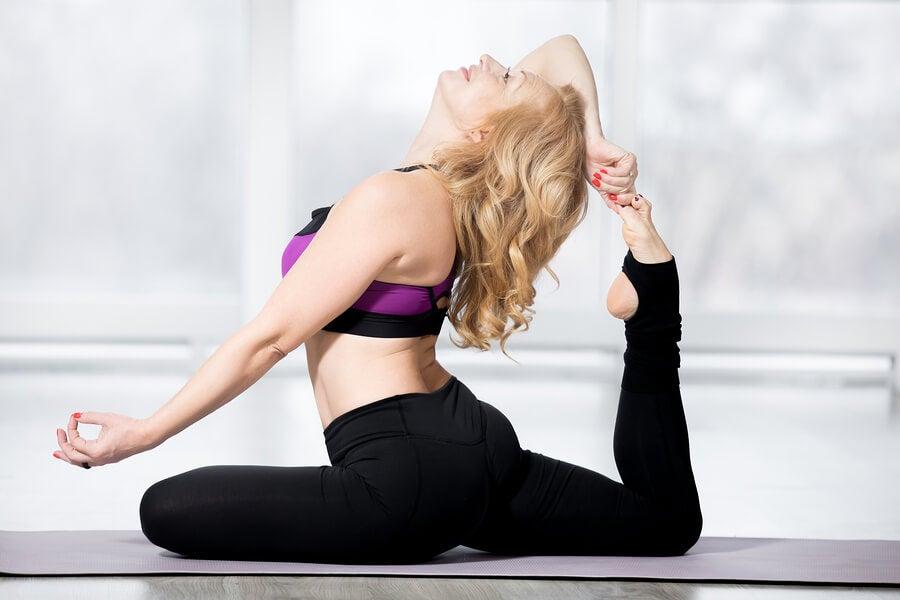 3 estiramientos de flexores de cadera