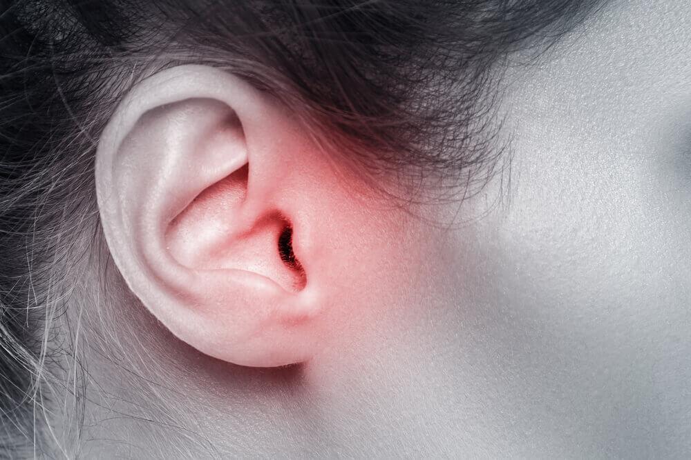 Paciente con dolor de oído.