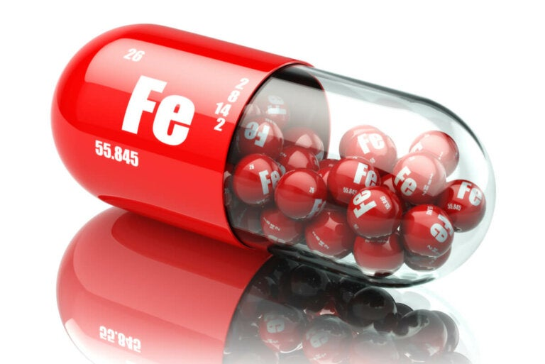 Los efectos secundarios de los suplementos de hierro