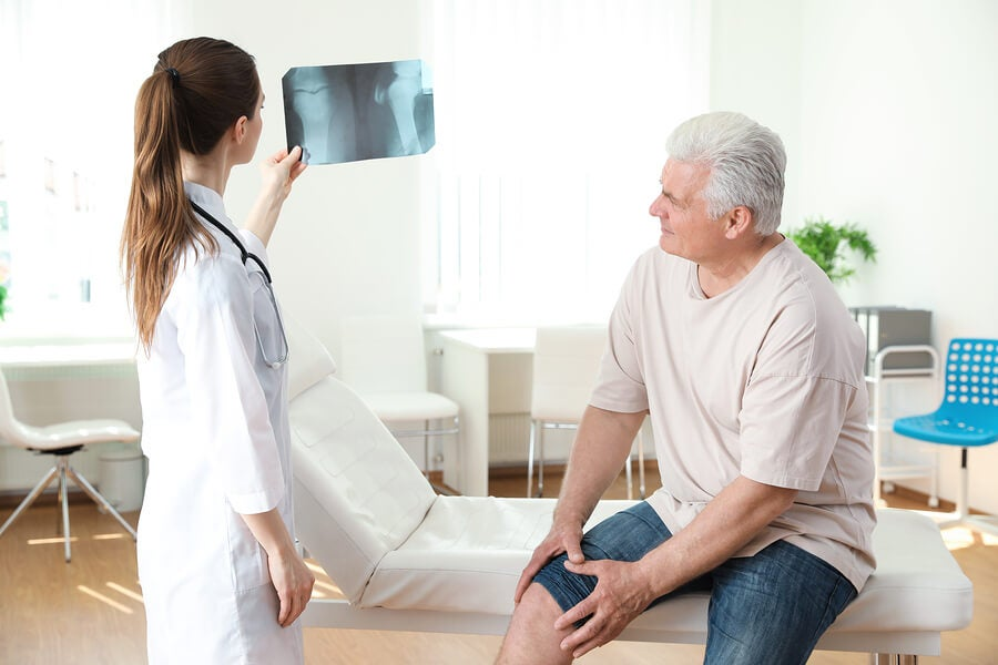 radiografía rodilla