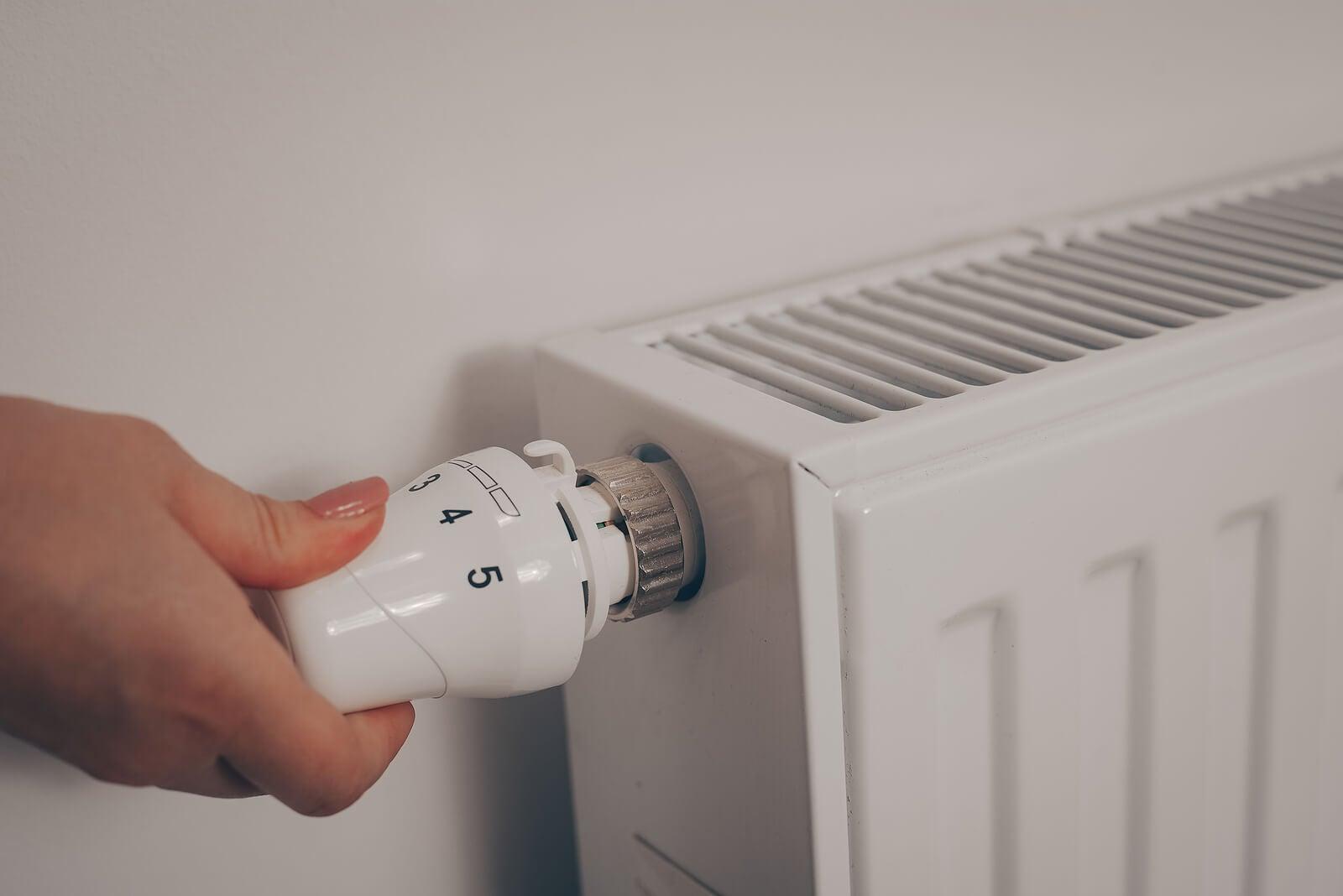 Calefacción por radiador.