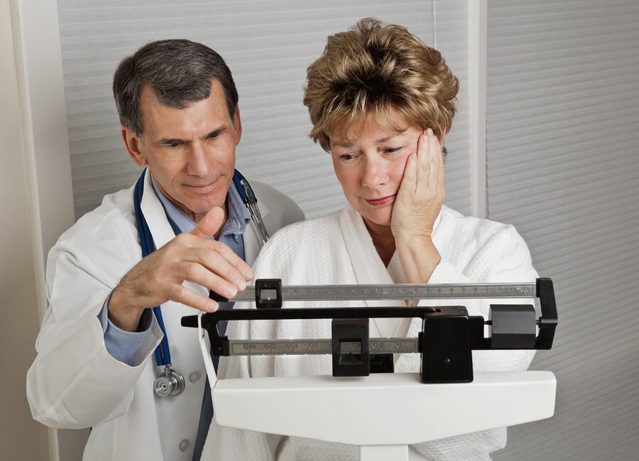 Se aumenta de peso durante la menopausia