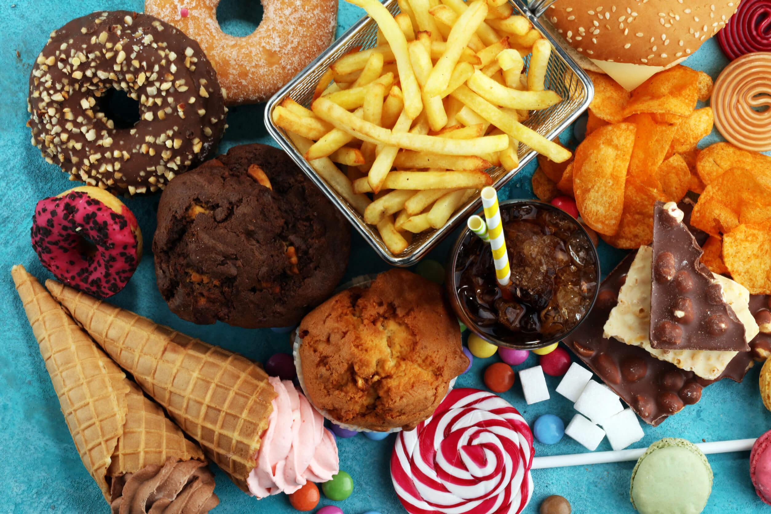 Para regular la glucosa hay que evitar comida procesada.