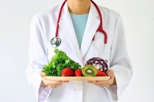 Comer frutas y vegetales