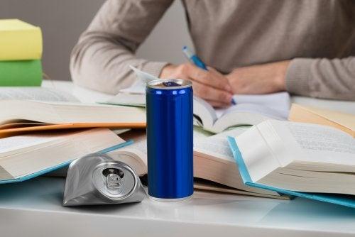 Riesgos para la salud de las bebidas energéticas