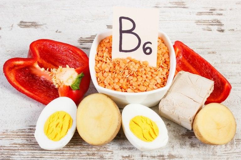 Beneficios de la vitamina B6