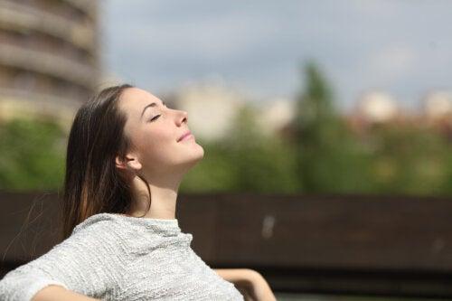Efectos de la respiración sobre el cerebro