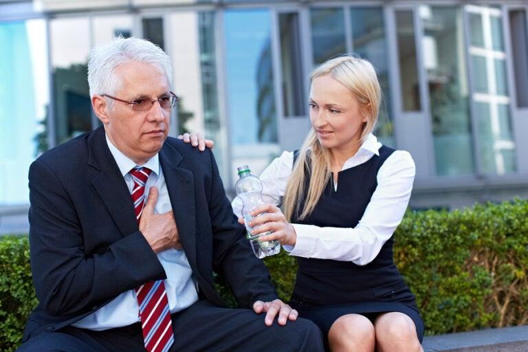 El estrés laboral asociado al riesgo de infarto