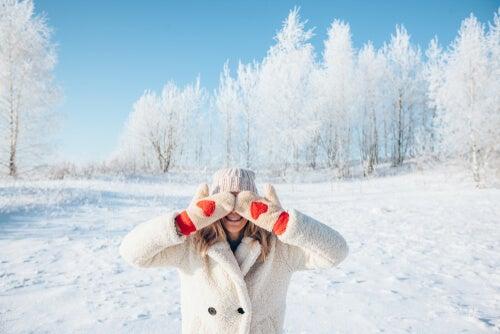 Cómo cuidar los ojos del frío