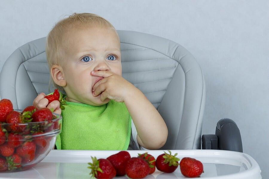 Frutas para niños estreñidos