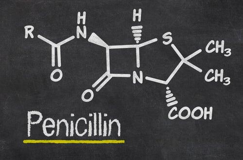 fórmula penicilina