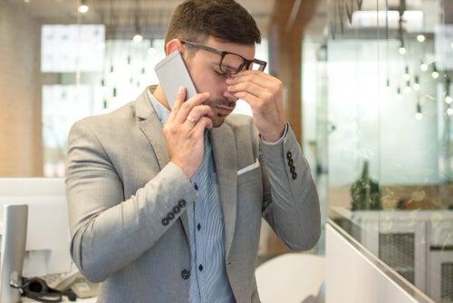 estrés puede afectar la visión