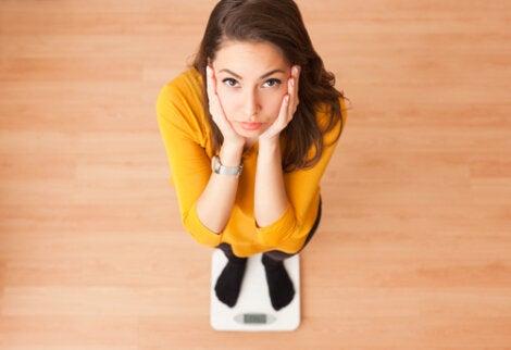 pérdida de peso súbita