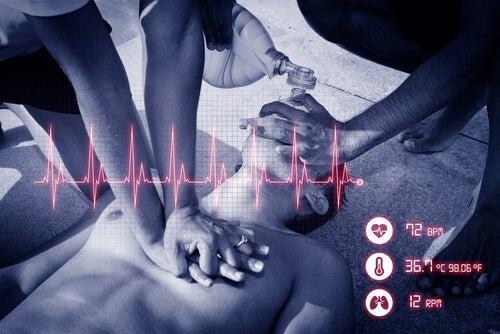 reanimación cardiopulmonar y parada cardiorrespiratoria