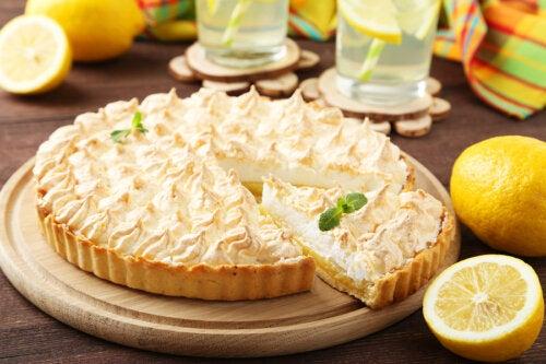 Pay de limón saludable