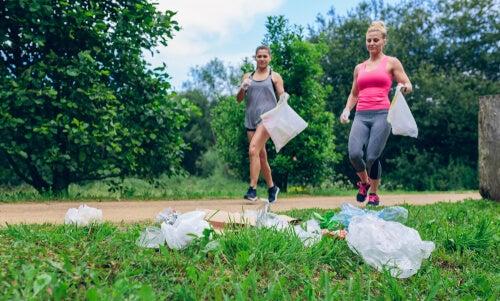 Plogging: hacer ejercicio y cuidar el medio ambiente