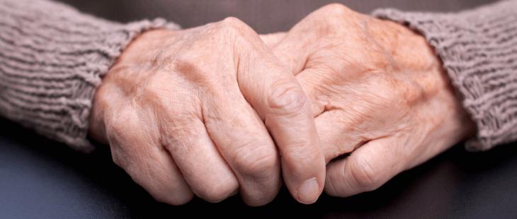 temblor por enfermedad de Parkinson