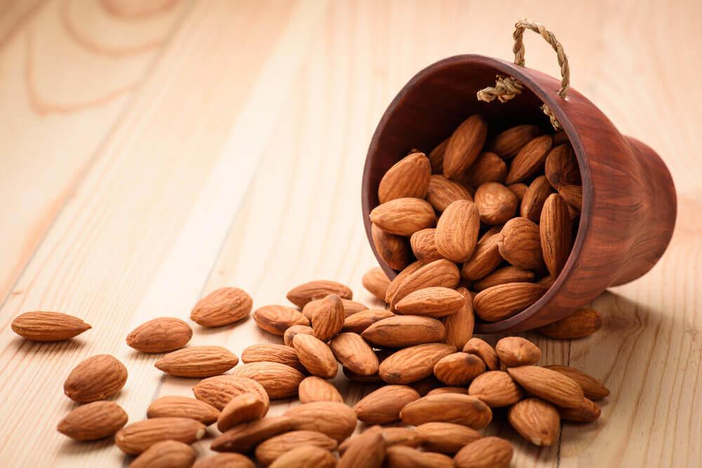 Las almendras son fuente de vitaminas y, en concreto, contienen vitamina B2