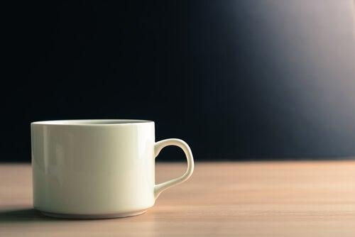 café como desayuno que no es fuerte