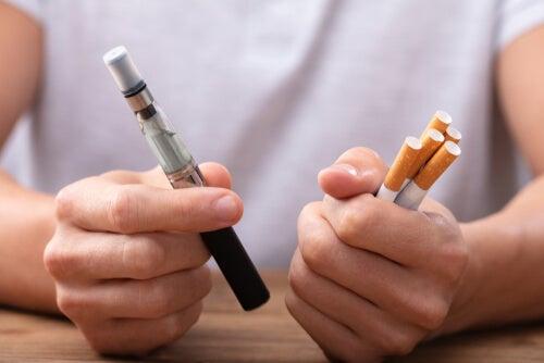 ¿Vapear es mejor que dejar de fumar?