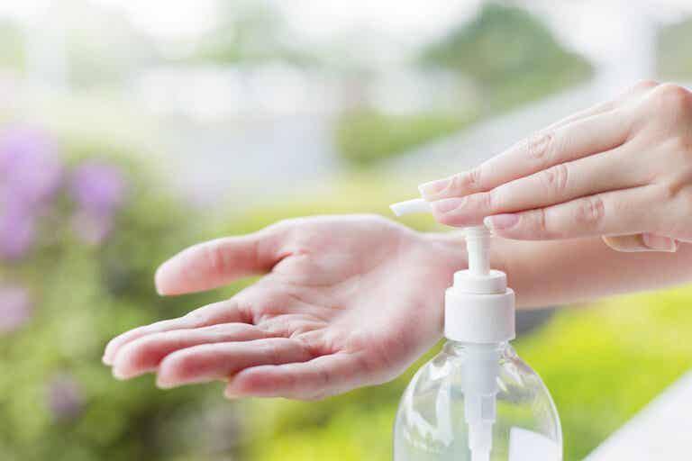 3 alternativas al gel desinfectante
