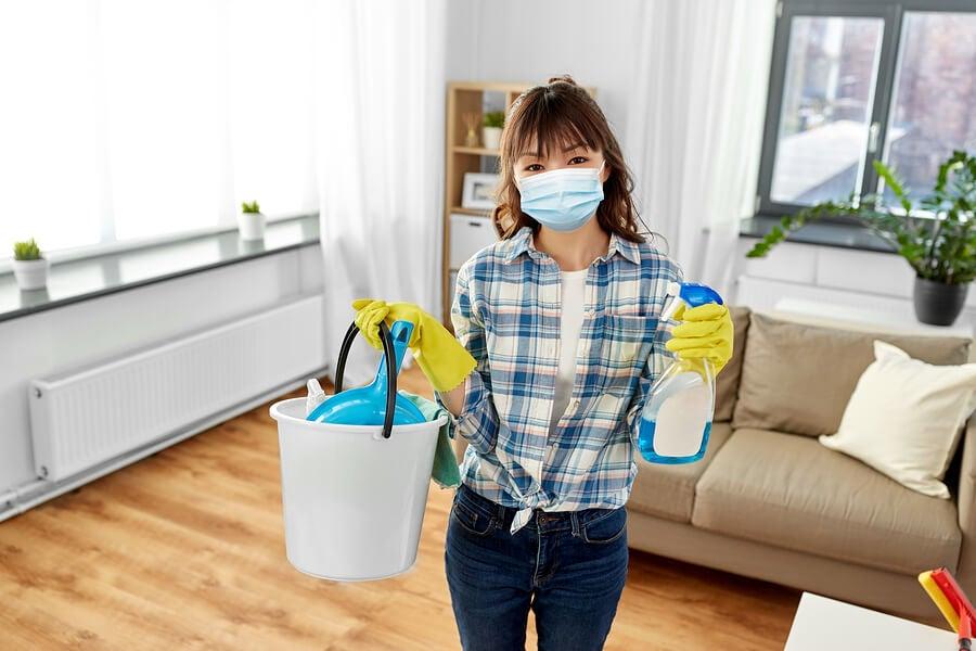 Recomendaciones para limpiar y desinfectar el hogar