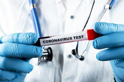 Tipos de test para detectar el coronavirus