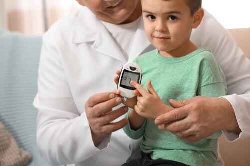 Niveles normales de glucosa en niños