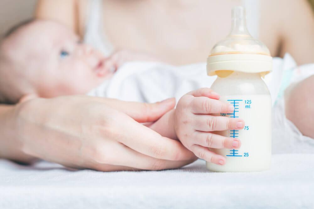 Los problemas de la lactancia mixta