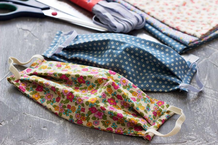 ¿Cómo hacer mascarillas de tela en casa?
