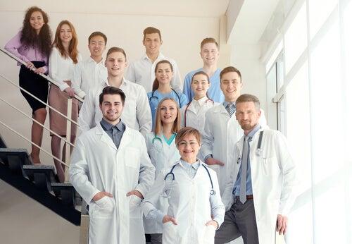 profesionales en el Día Mundial de la Salud