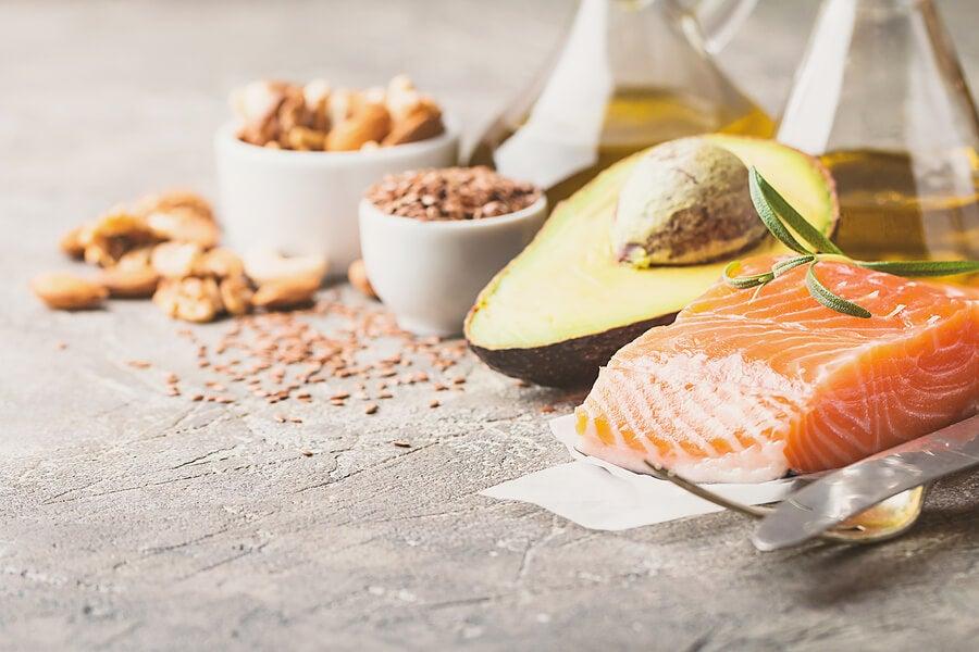 Consume más ácidos grasos omega 3