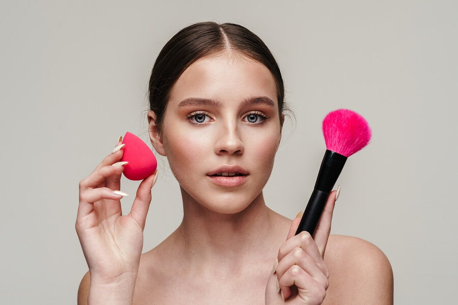 Objetivo del estudio de un estuche de maquillaje
