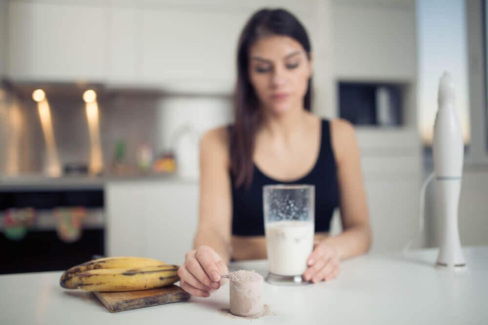 El plátano es una fuente de carbohidratos