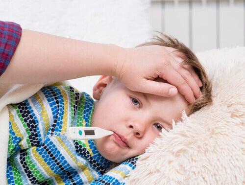 Síntomas de neumonía en niños