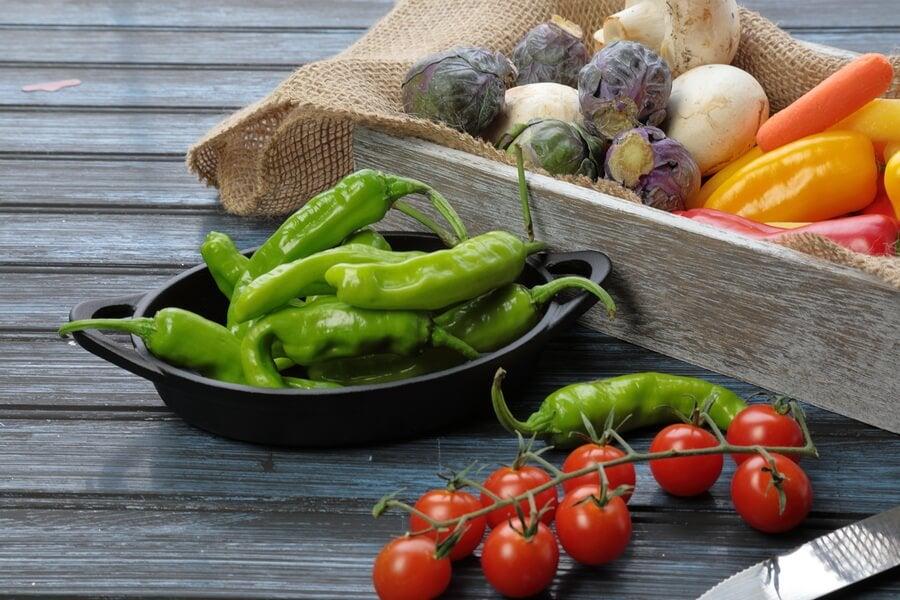 ¿Cómo introducir las piparras en la dieta?