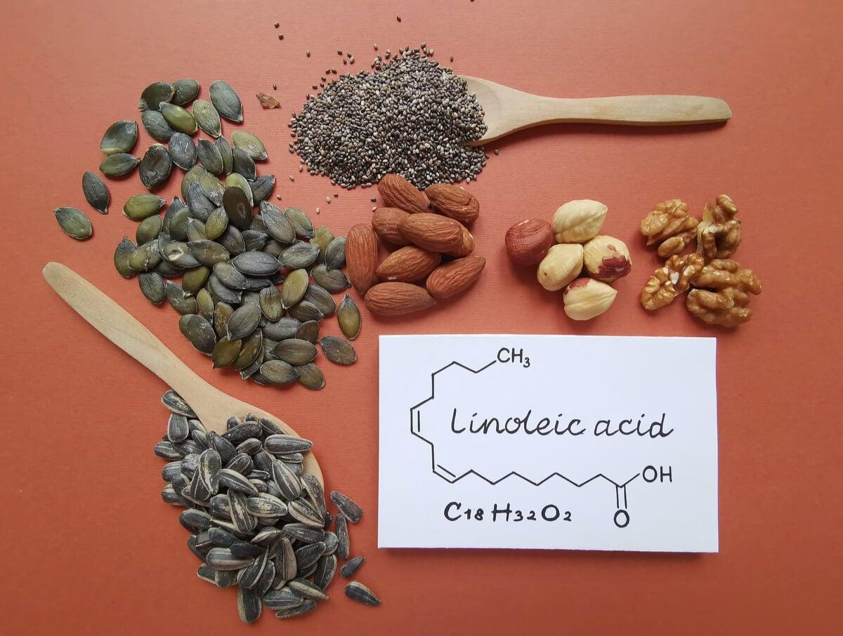 Fórmula del ácido linoleico