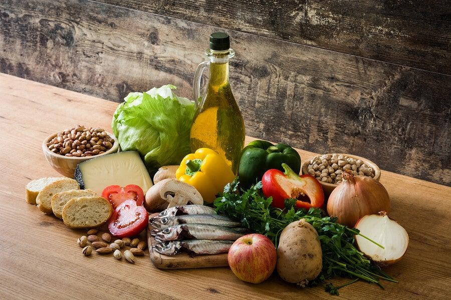 ¿Cuáles son las características de la dieta mediterránea para la salud intestinal?