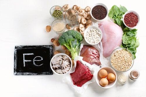 3 alimentos que contienen hierro