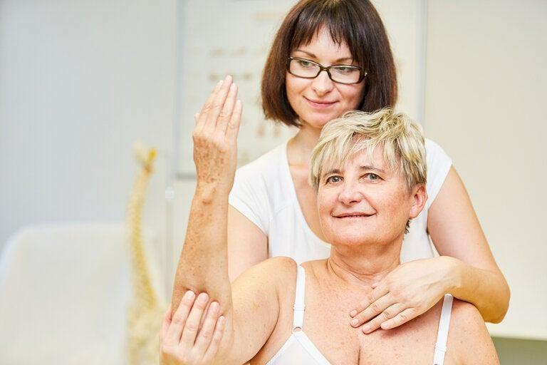 Tratamiento para pacientes con bursitis de codo