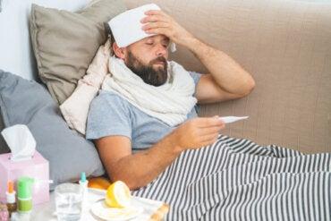 ¿Por qué aumenta la temperatura corporal durante la fiebre?