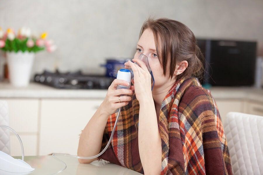 Síntomas de bacterias en los pulmones