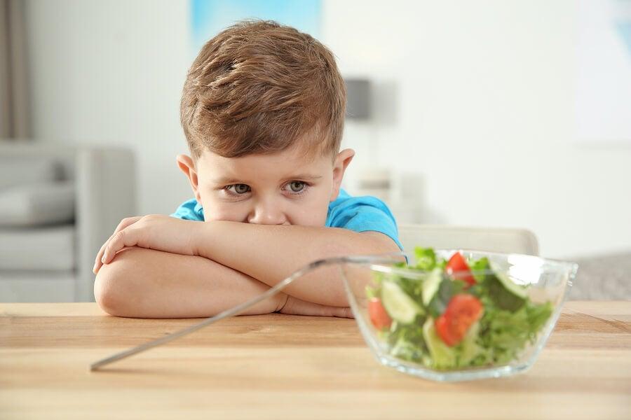 Principales trastornos alimenticios en niños con autismo