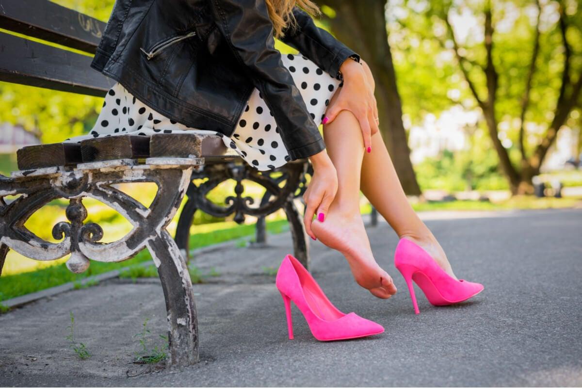 Zapatos generan dolor de tobillo