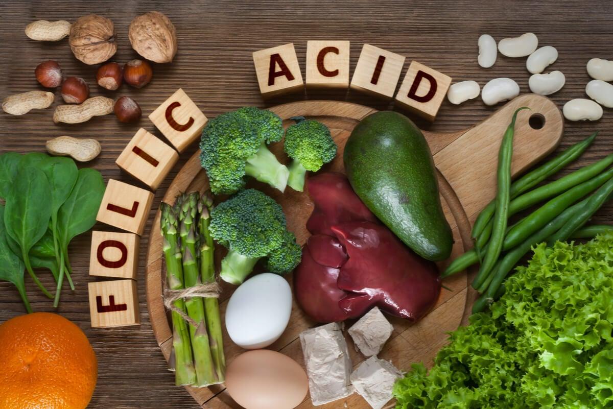 Alimentos con ácido fólico